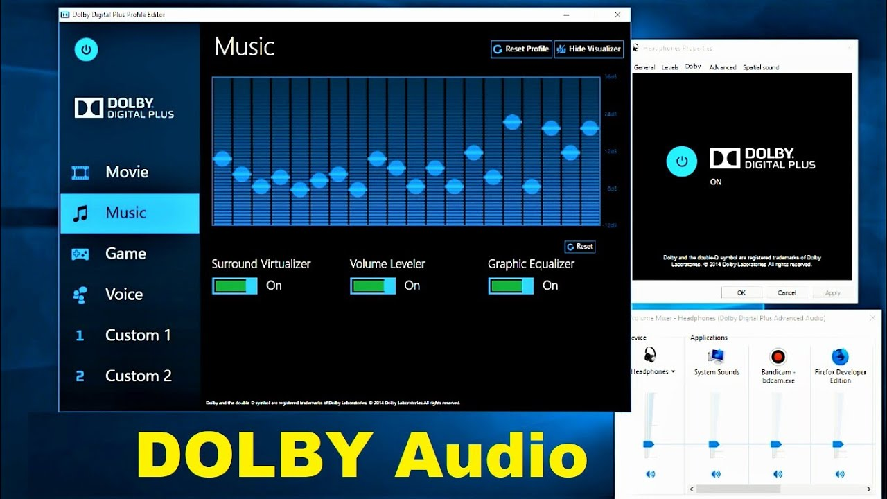 Dolby Audio V2 Download Windows 10