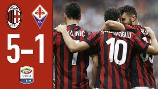 Highlights AC Milan 5-1 Fiorentina - Matchday 38 Serie A 2017/18 thumbnail