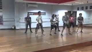 UDW Practice Hiphop Nu Style Open Class 17 Sep 2015