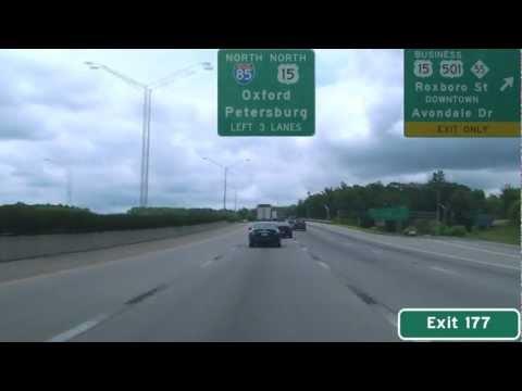 I-85 North - Durham, NC