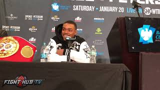 ERROL SPENCE JR LAUGHS AT AN AMIR KHAN FIGHT