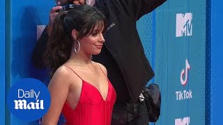 Camila Cabello dazzles in red gown at MTV Europe Music Awards