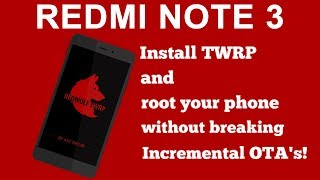 How to install redwolf twrp in any xiaomi phone videos