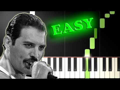 QUEEN - DON'T STOP ME NOW - Easy Piano Tutorial