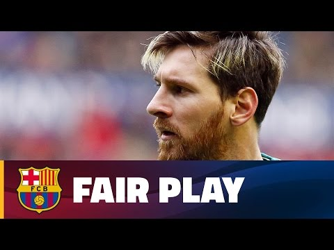 TOP 5 - FC Barcelona's values and fair play