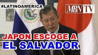 JAPON ESCOGIO A EL SALVADOR  COMO PRIMER  Y UNICO PAIS EN  AMERICA LATINA