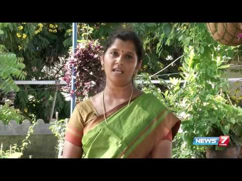 How to grow different types of greens in terrace? | Poovali | News7 Tamil
