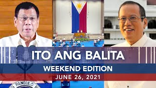 UNTV  TO ANG BAL TA WEEKEND ED T ON June 26 2021