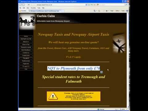 Newquay-airport-taxis.co.uk