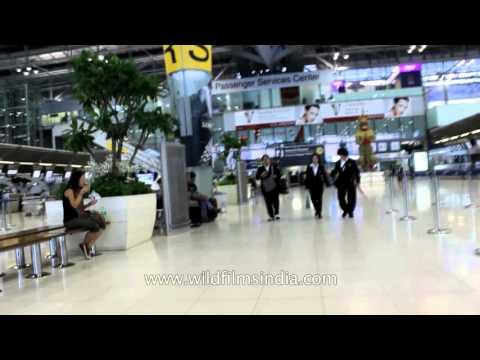 Suvarnabhumi international Airport  of Bangkok