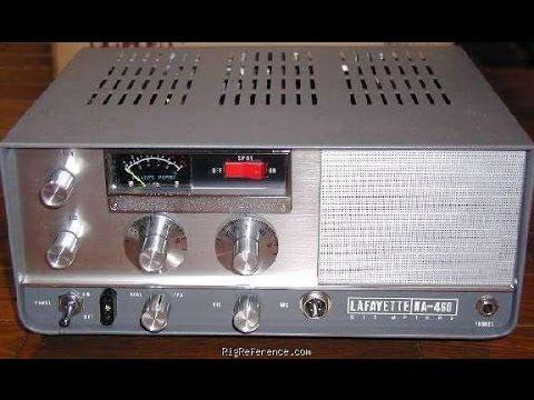 Amateur Radio Vintage Layfayette AM 6 meter HA460