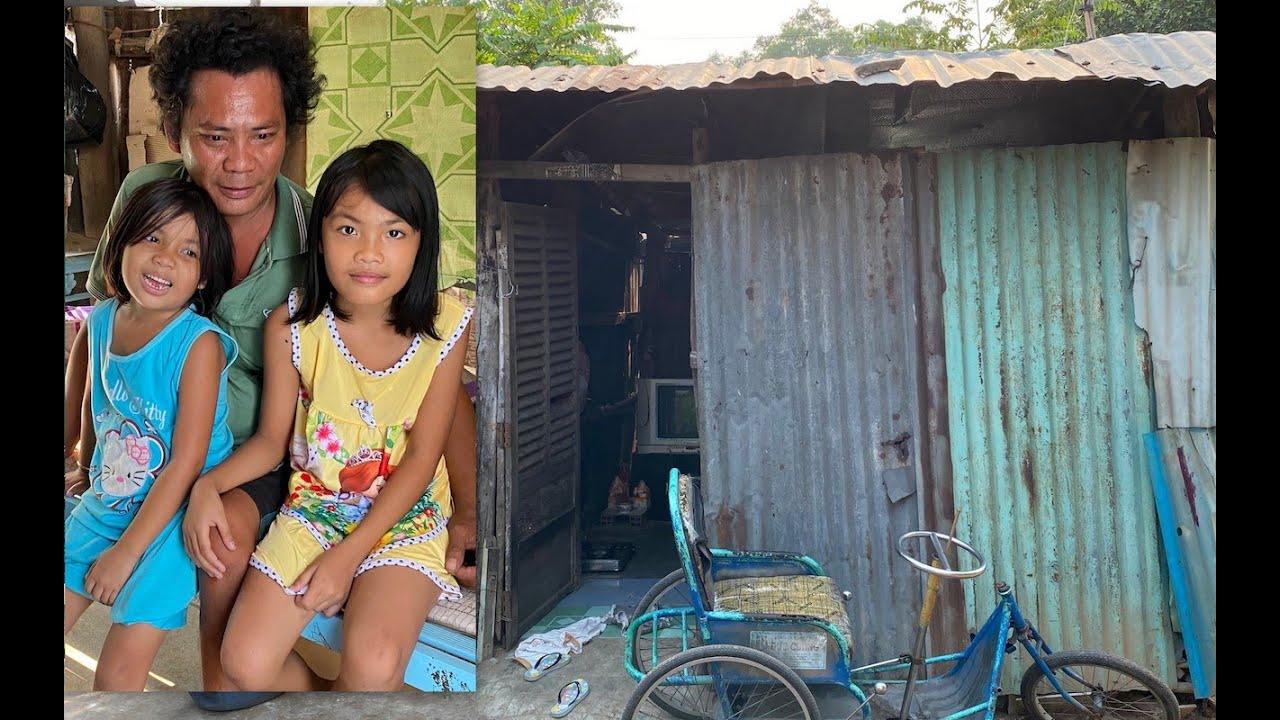 Vợ bỏ đi, 3 cha con sống cảnh thiếu thốn trong chuồng gà bỏ hoang