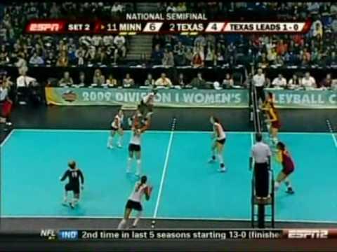 Texas vs. Minnesota - 2009 NCAA Women