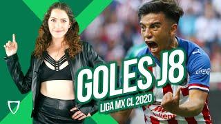 Jornada 8 GOLES JORNADA 8 TABLA GENERAL y de GOLEO ⚽️ Liga MX CLAUSURA 2020 Marzo 1