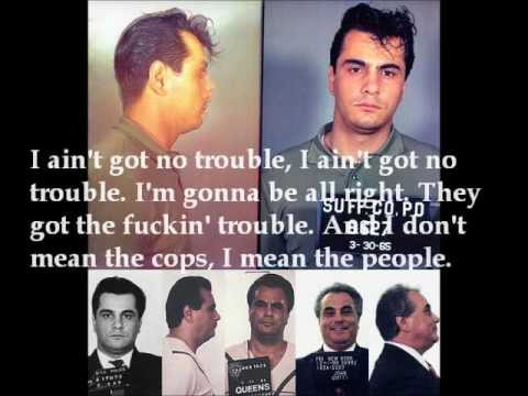 """John Gotti Wiretap """"Cosa Nostra"""