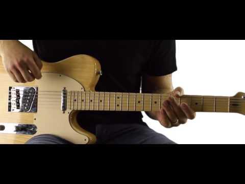Workin' Man Blues - Brent Mason Solo - Complete Guitar Lesson