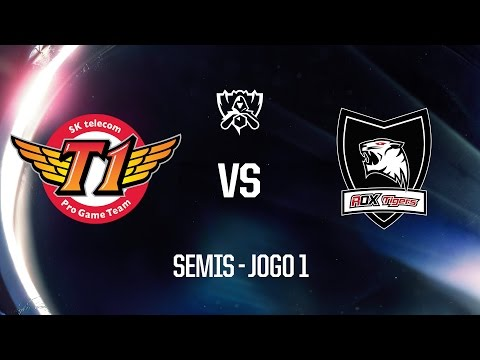 SKT X ROX Tigers (Semifinal - Jogo 1) Mundial 2016