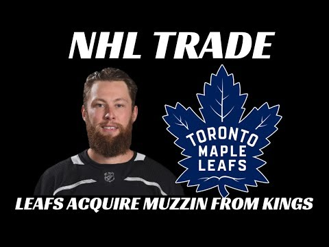 NHL Trade - Leafs Acquire Muzzin from Kings