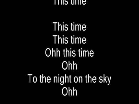 Dj Antoine - This time (original pop version) with lyrics