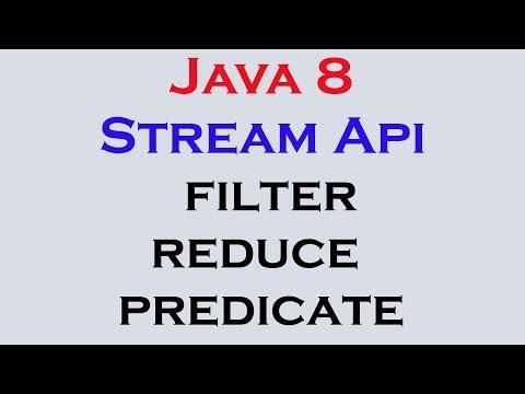 17.17 Java 8 Stream Api Features Part 15 Filter Reduce Predicate Interface
