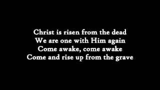 Matt Maher Christ is Risen Instrumental with lyrics