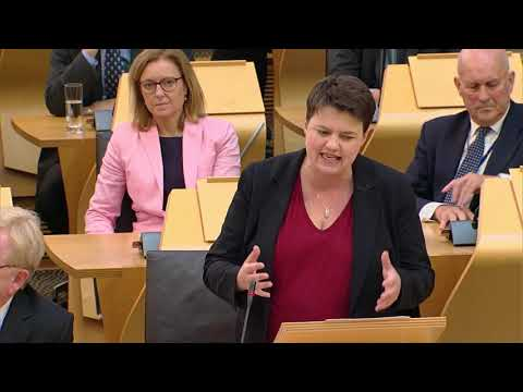 First Minister's Questions - 20 September 2018