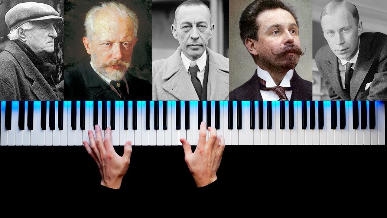 TOP 5 MOST FAMOUS RUSSIAN PIANO PIECES