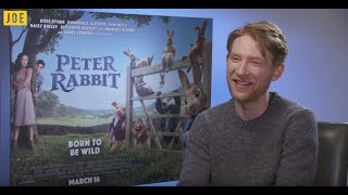 domhnall gleeson on his x men audition peter rabbit and paddington 3