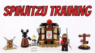 LEGO Ninjago Movie Spinjitzu Training - Unboxing Speed Build & Review