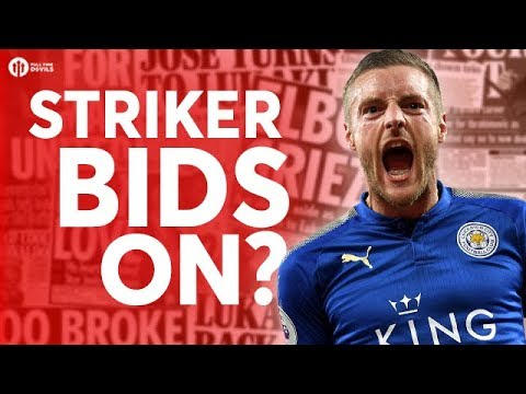 Vardy & More Striker Bids On? Manchester United Transfer News Today! #7
