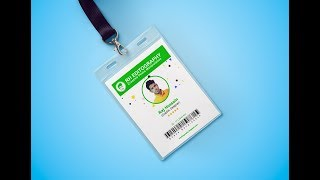 كيفية إنشاء بطاقة الهوية التصميم في الفوتوشوب l فوتوشوب البرنامج التعليمي
