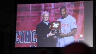 Cincinnati Reds Minor League Awards Presentation at 2011 Redsfest