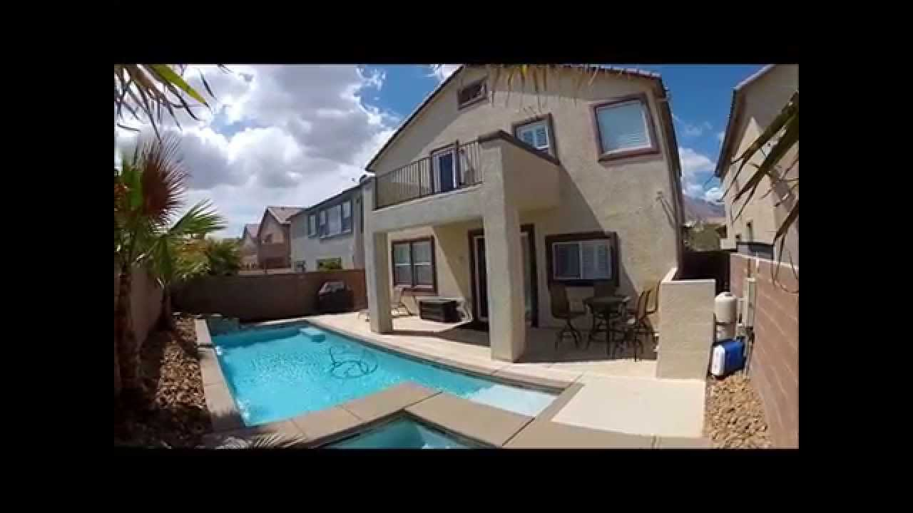Hot Houses For Sale 3 Bedroom House For Sale With A Saltwater Pool And Hot Tub In Las Vegas Nevada Summerlin The Vistas