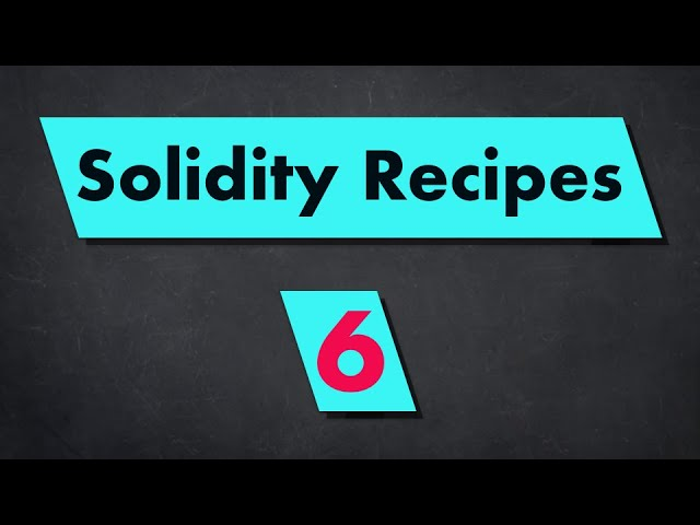 How to generate random numbers in Solidity?