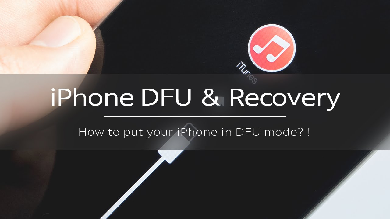 how to put iphone in dfu mode iphone dfu amp recovery mode 아이폰 dfu 복원 모드 및 공장초기화 방법 2374