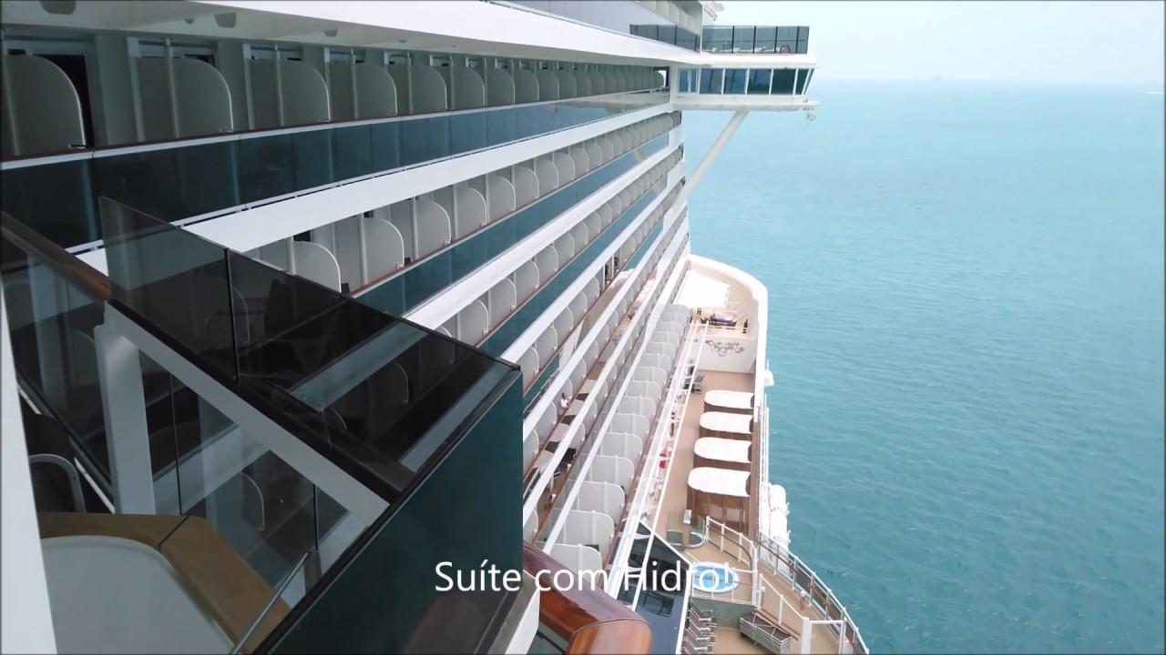 MSC Seaview Cabine Externa com Varanda Deck 15 - Full HD ...