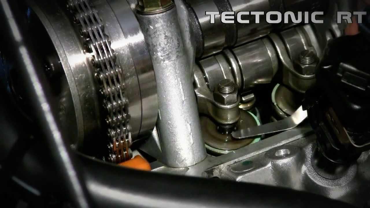 Honda Civic K20a2 Valves Adjustment Youtube