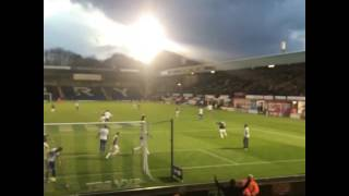 Nile Ranger Goal for Southend United at Bury