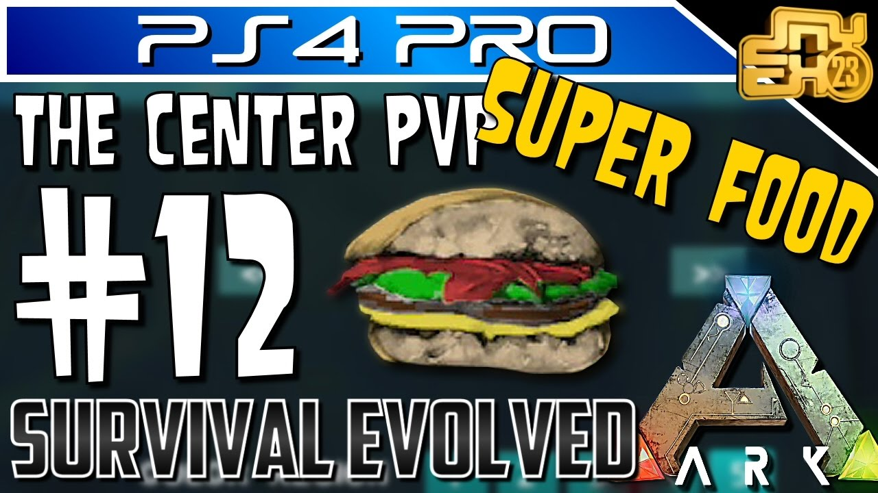 Ark Official Pvp On Ps4 Ep 12 How To Make Custom