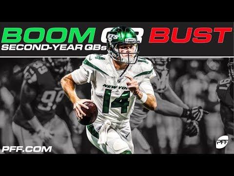 [PFF] Boom or Bust: 2nd year quarterbacks