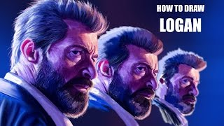 How to Draw Logan - Speed Painting and Music by Sean Henry