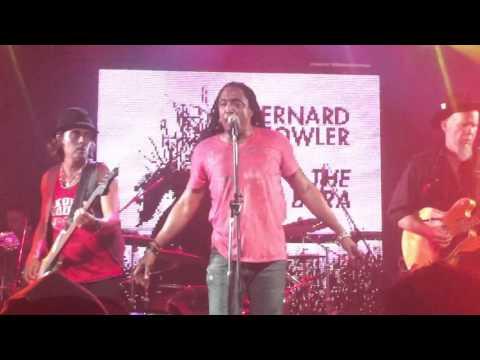 Bernard Fowler ( Rolling Stones) en Bs As + Zorrito + banda. 12/2/16