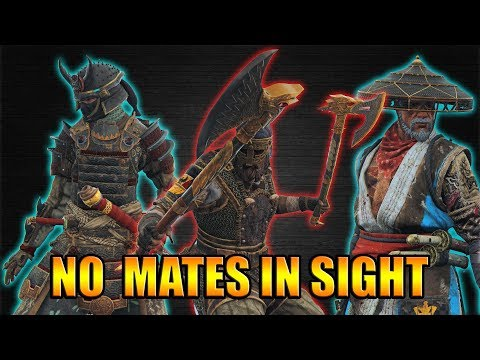 Rocking the Fights alone - No mates in sight [For Honor]