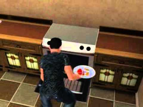 How To Cook Eggs Machiavellian On The Sims 3 - YouTube