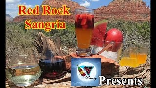 Summer Drinks! Red Rock Sangria by TT Winery