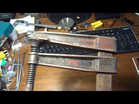 Bar clamp restoration