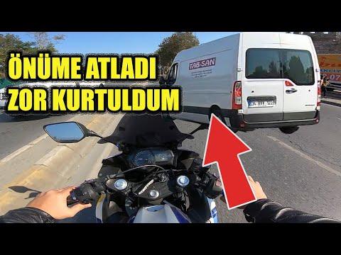 Yol Günlüğü#02 BENZİN BİTTİ YOLDA KALDIM ! - POLİS ÇEVİRMESİ KASKSIZ DAYI !