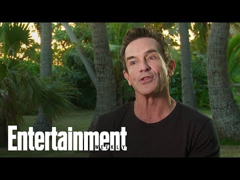 'Jeff Probst On What To Expect On 'Survivor: Edge Of Extinction' | Entertainment Weekly'