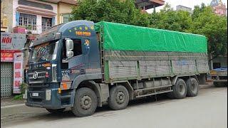 VLOG #26 Trải nghiệm xe tải 4 chân độc nhất Việt Nam IVECO HONGYAN 310 - IDOL Cường Còi