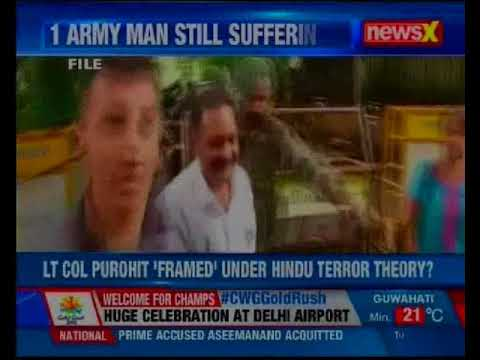 Justice for Purohit: Lt Col Purohit 'framed' under Hindu terror theory?